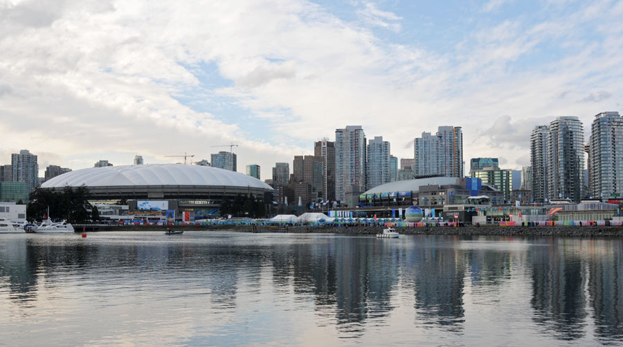 Vancouver, BC - False Creek View - We Just Won the GOLD!