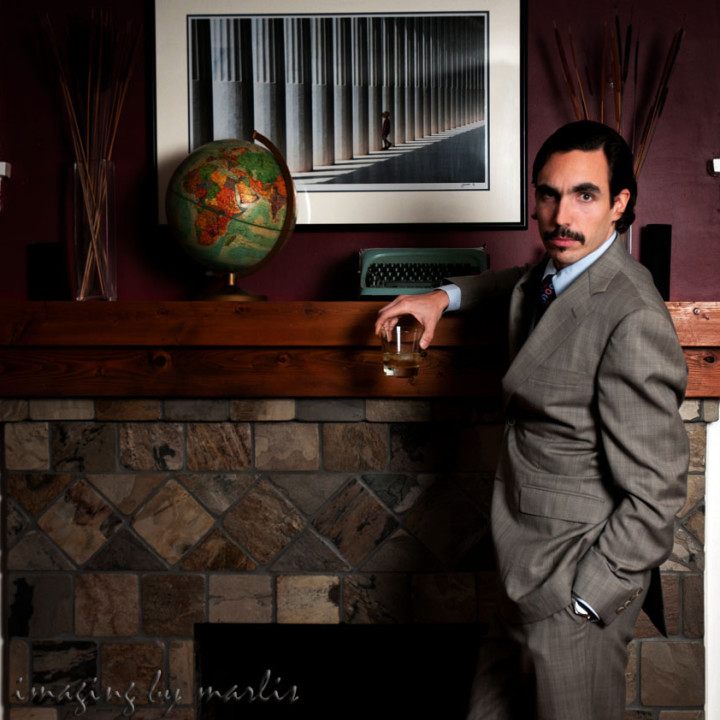 Movember profile - Alex goes Vintage