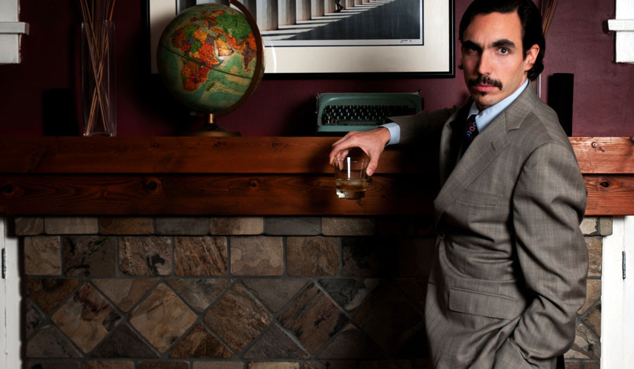 Movember profile - Alex goes Vintage