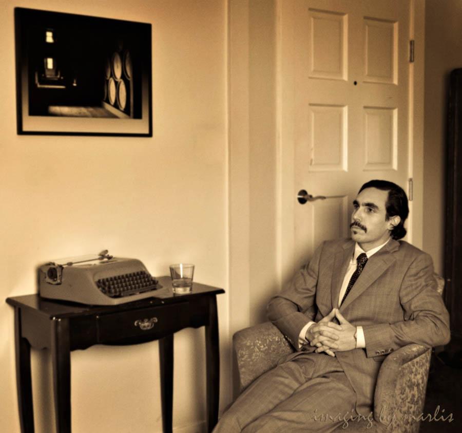 Movember - Alex - sepia