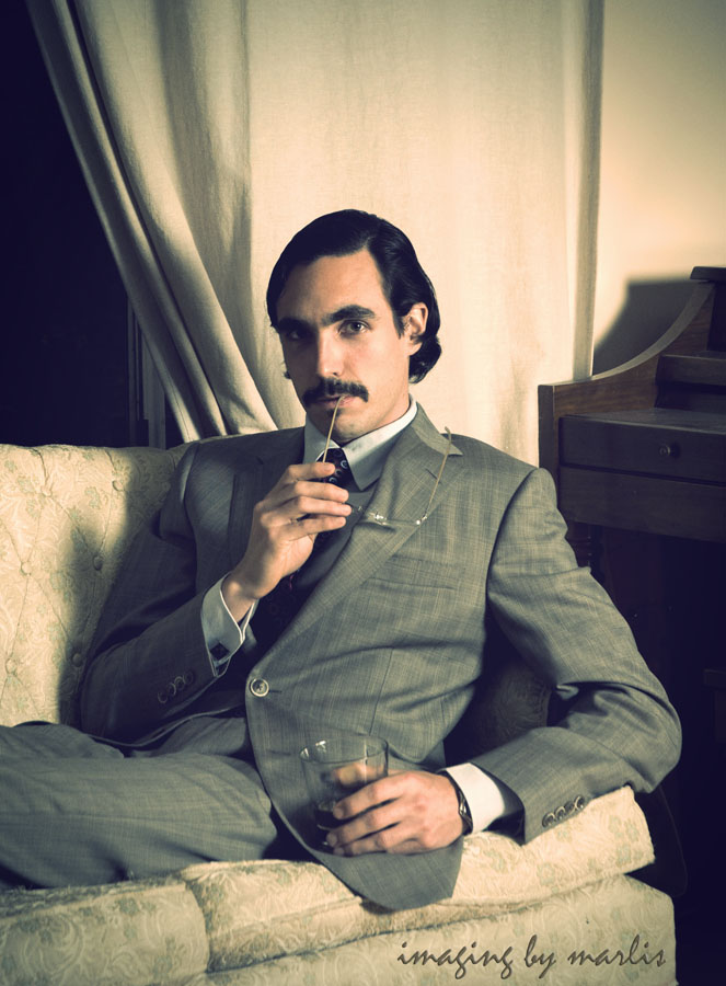 Movember - Alex - vintage