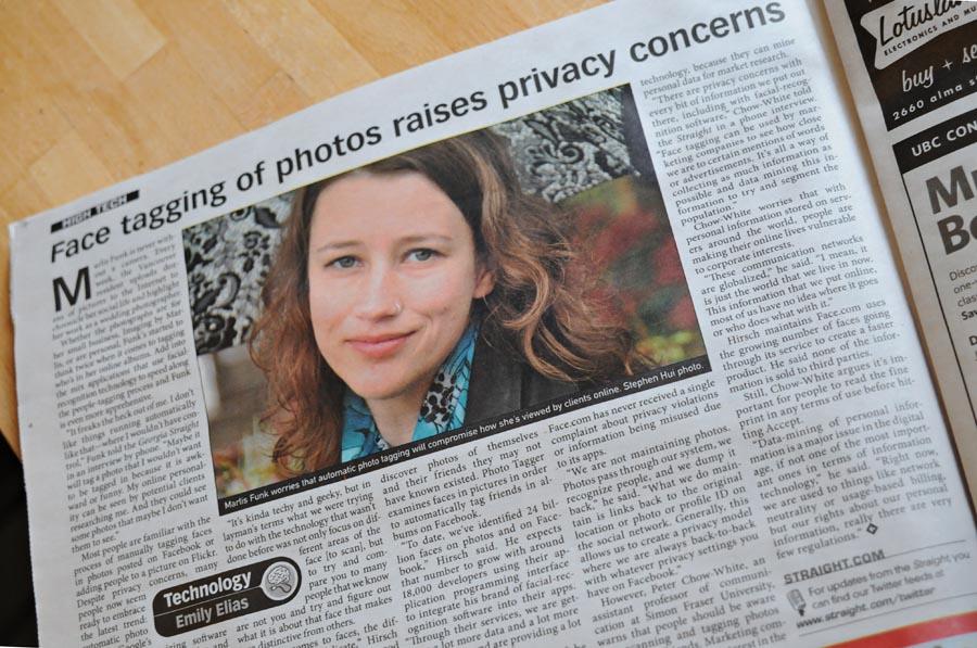 Georgia Straight - May 5, 2011 - Page 18