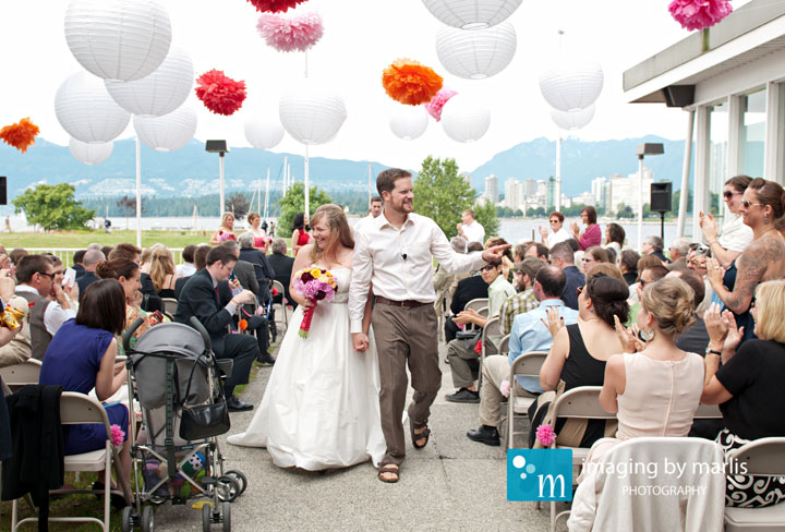 Katherine & Benoit - Ceremony at Maritime Museum | Vancouver Wedding Photography