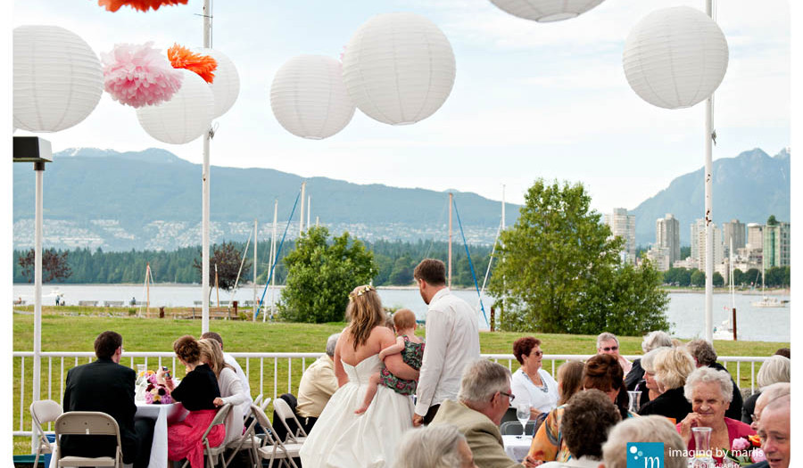 Katherine & Benoit - Summer-Deck-Party Reception | Vancouver Wedding Photography