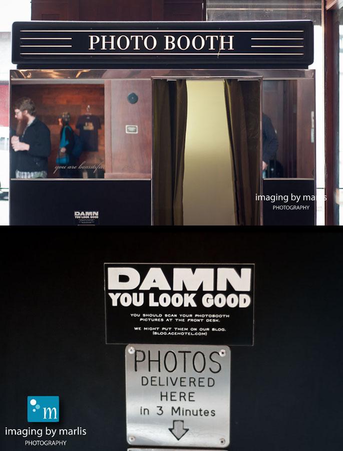 Ace Hotel: Photobooth