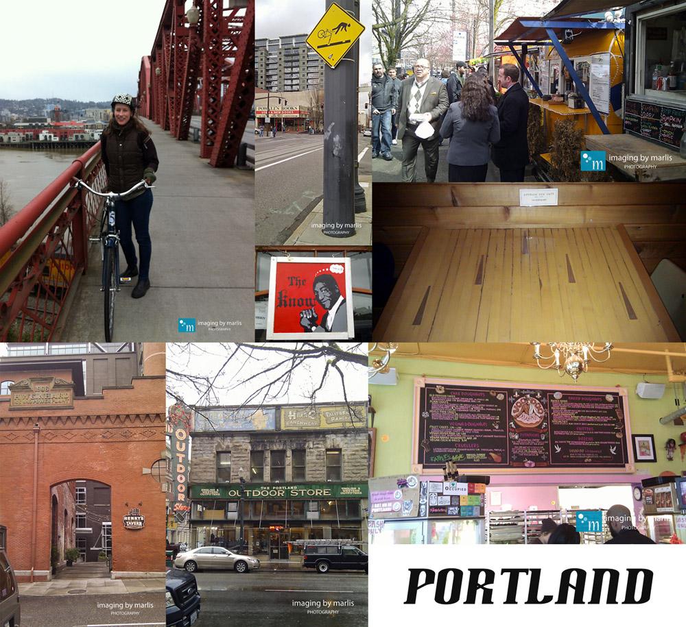 Portland Adventure - Marlis Funk