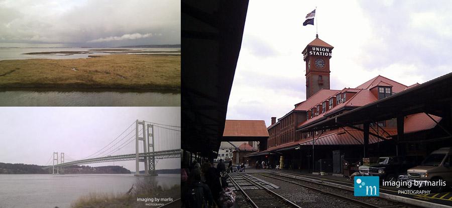Amtrak Cascades - Vancouver to Portland
