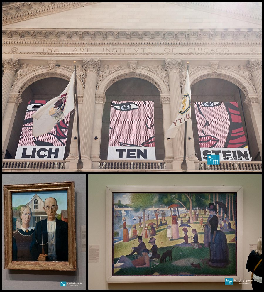 Art Institute - Chicago! - Photo by Marlis Funk