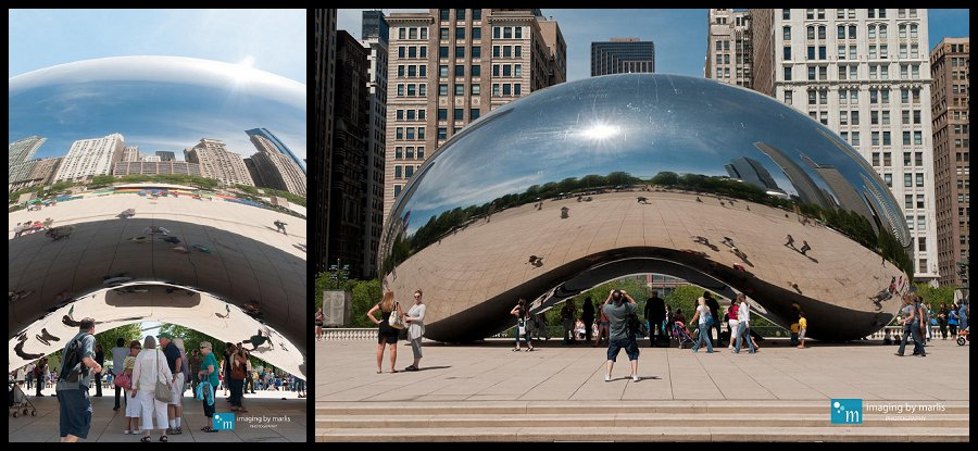Cloud Gate - Chicago! - Photo by Marlis Funk
