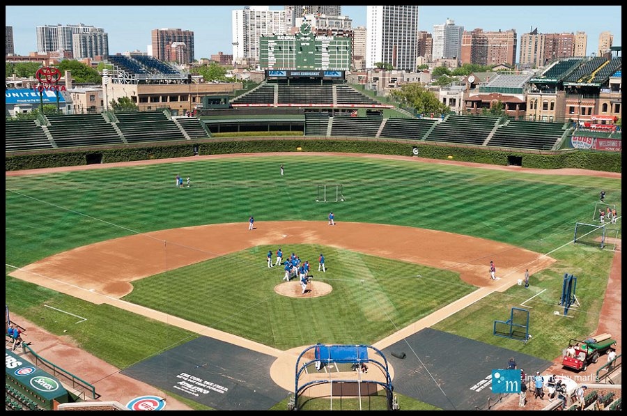 Wrigley Field - Chicago! - Photo by Marlis Funk