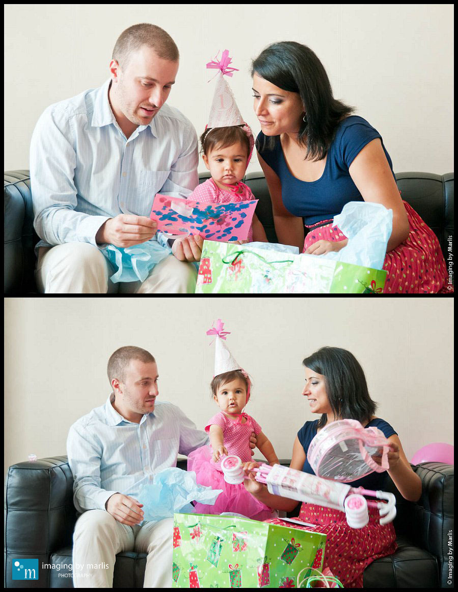 Mila's First Birthday Party 19