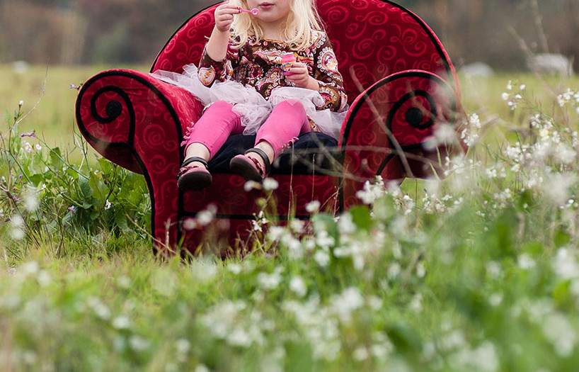 The Red Chair | Children's Portrait Photography